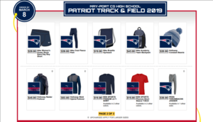 MPCG Track Apparel Store Now open