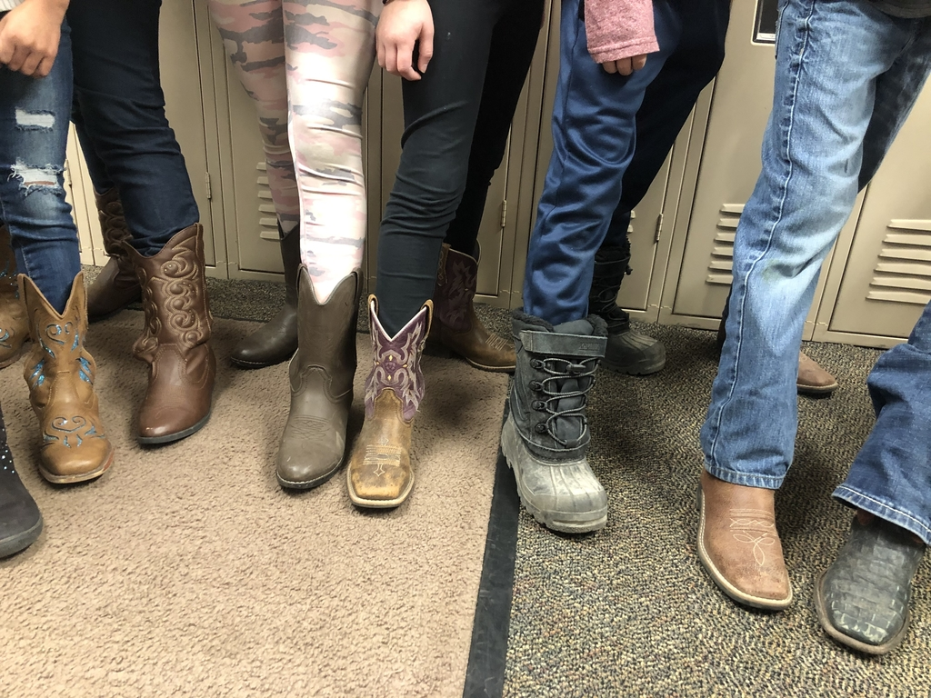 Boot day!