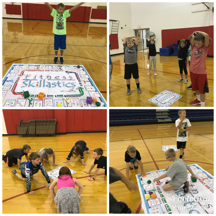 Skillastics: A fun fitness activity for grades3-5.