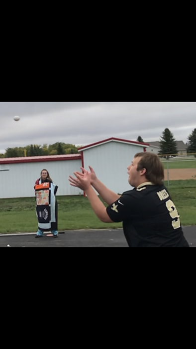 Egg Toss (Homecoming 2018)