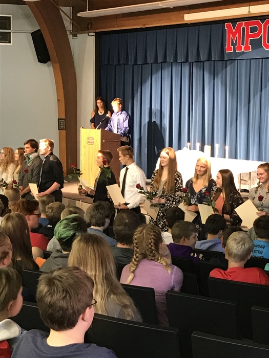 National Honors Society Induction 2018