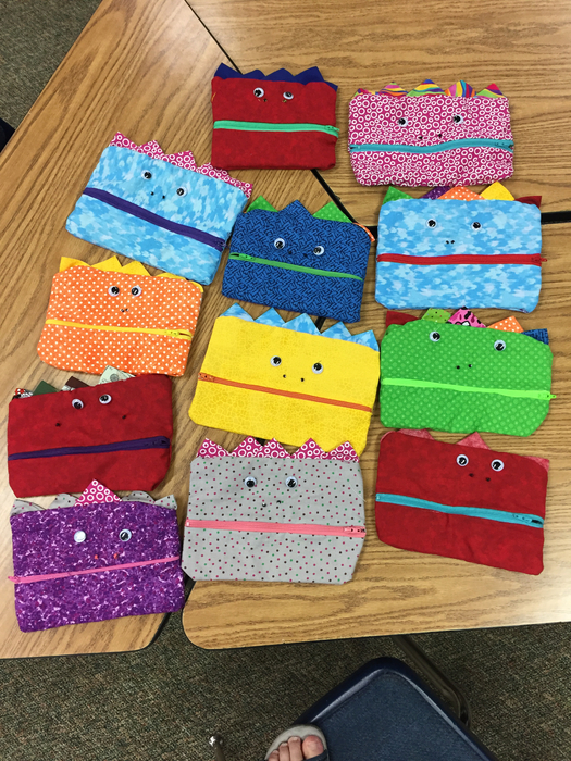 Ta Da!  FACS 8 Rotation is DONE with their Gobbler Pencil cases!