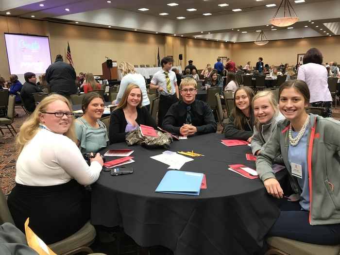 FBLA officers attending the Fall Leadership Conference.