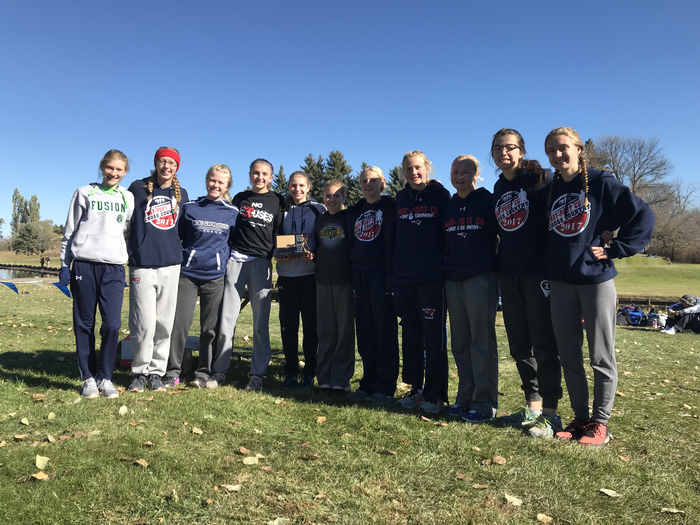 Girls 3rd Place Team