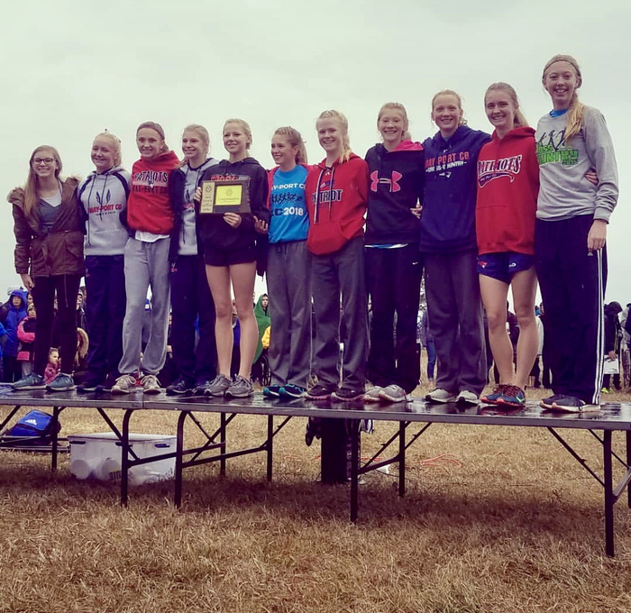 May-Port CG Girls Cross Country 2018