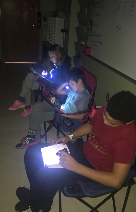 4th grade flashlight reading