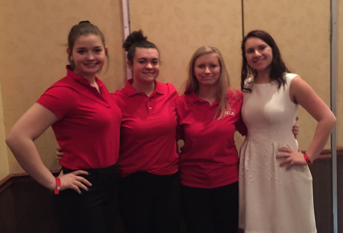 MayPortCG FCCLA Power of One .... off to nationals in Anehiem!