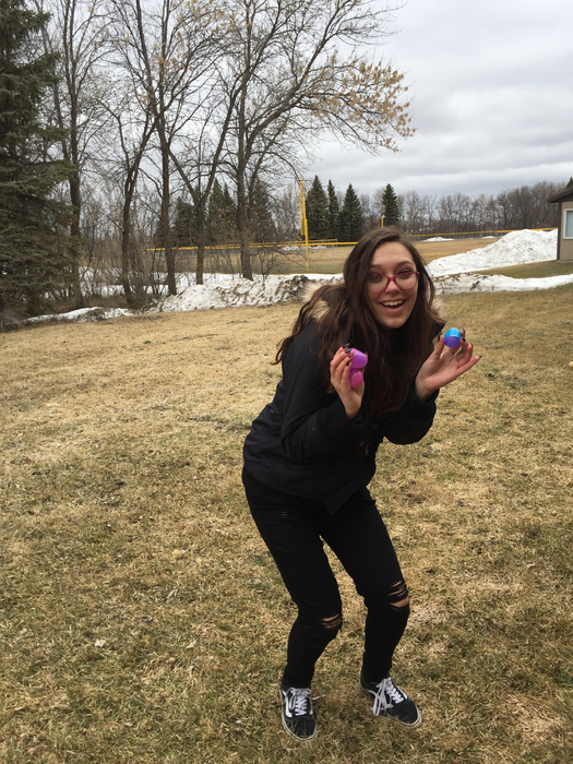 MPCG FCCLA TOUGH:  Easter Egg Hunt in the cold!