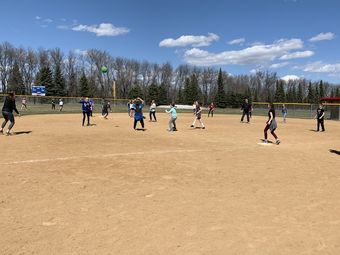 Beautiful day for a kickball incentive!