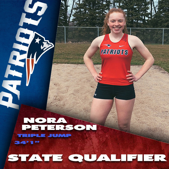 Nora Peterson Triple Jump