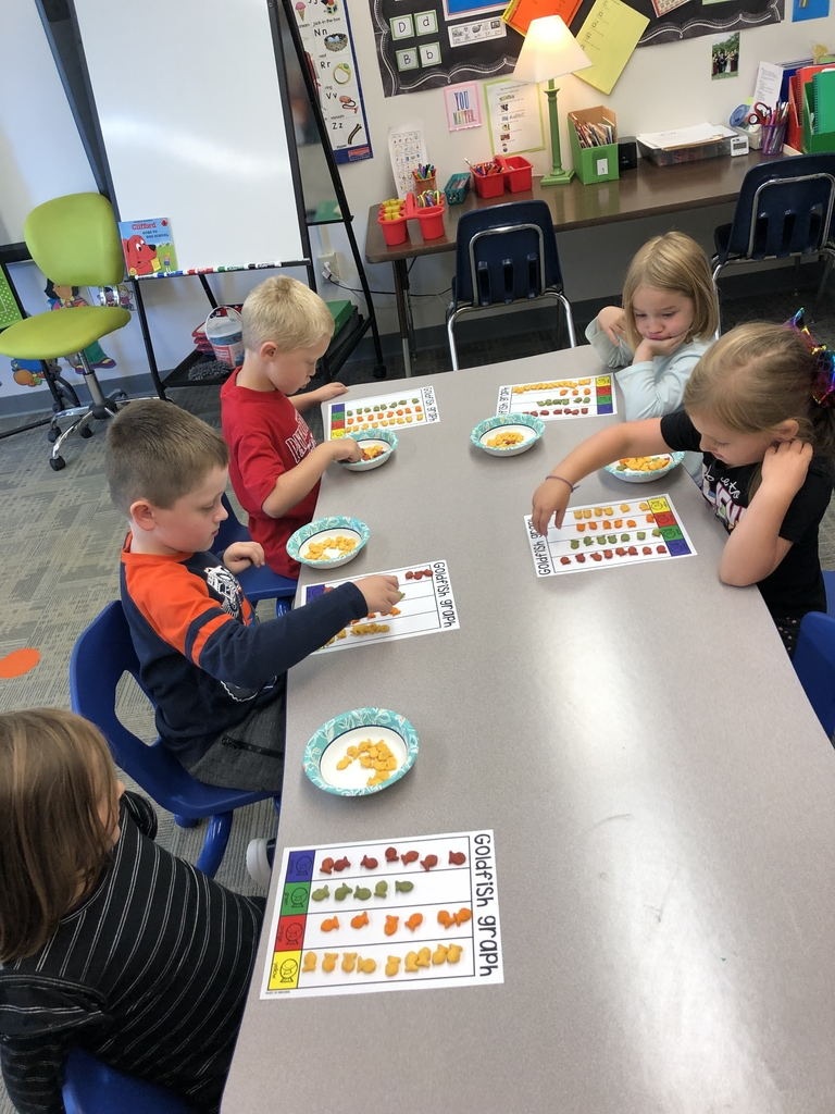 Counting and graphing goldfish!