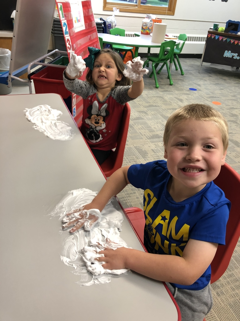 Shaving cream writing!