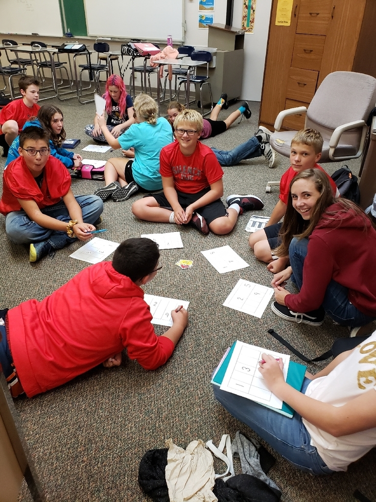 7th grade learning numbers in Spanish