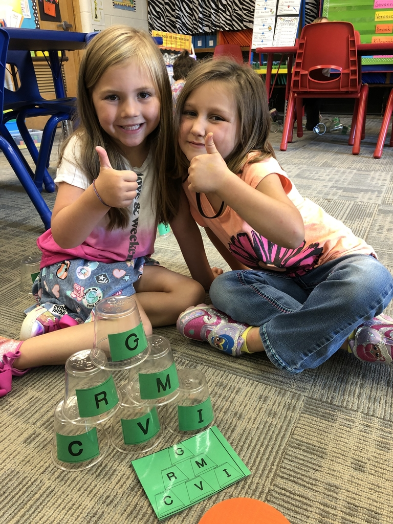 Alphabet stacking game!