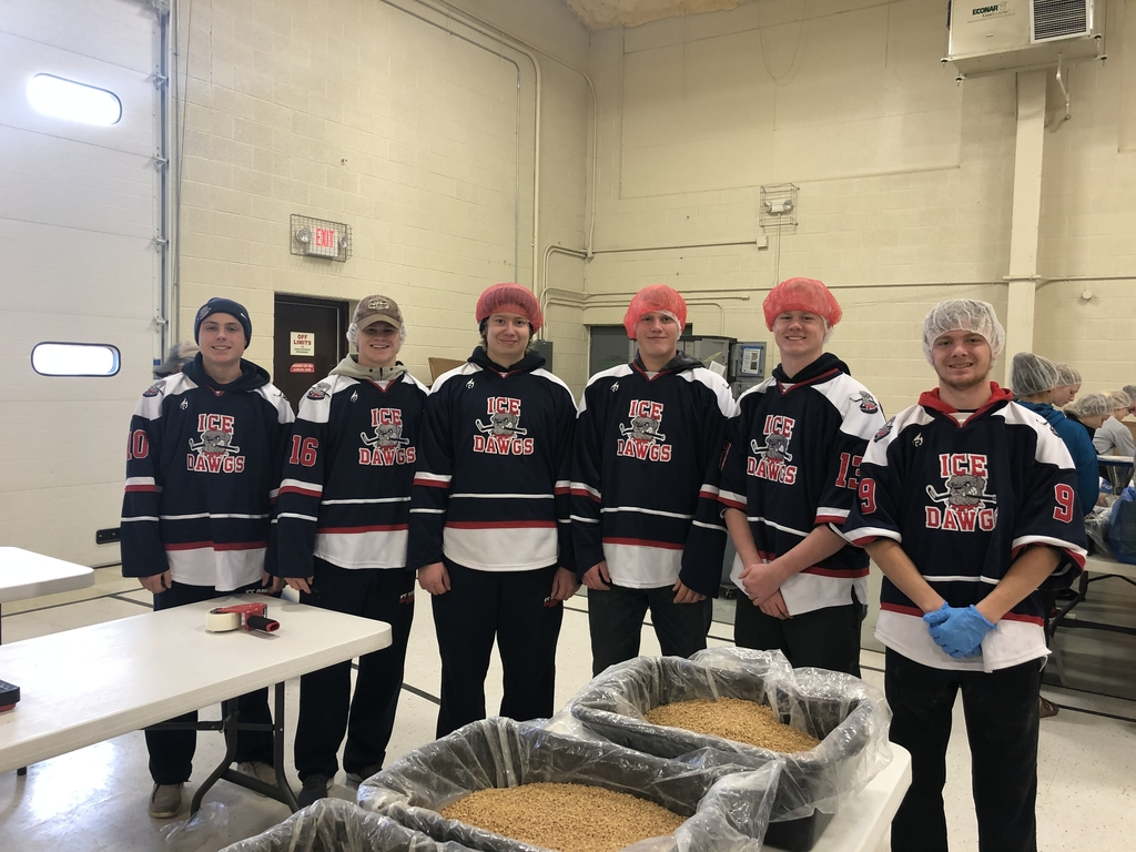 Ice Dawg Hockey at Feed My Starving Children!