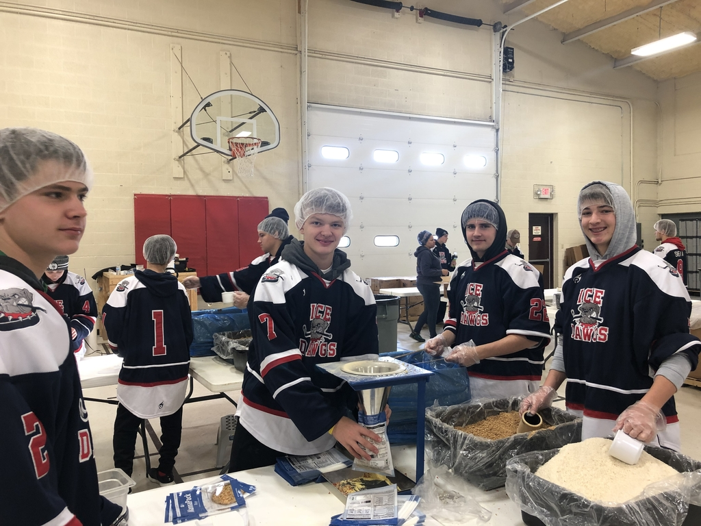 Ice Dawg Hockey at Feed My Starving Children !