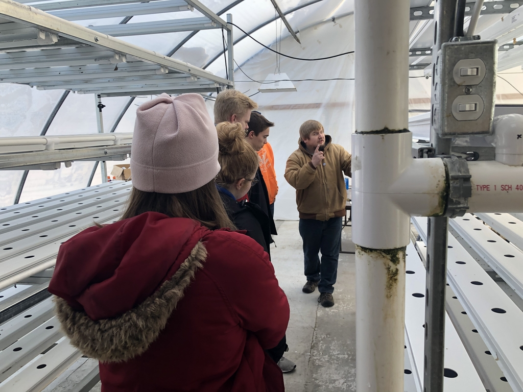 Plant Sciences took a field trip to Hydroponics!