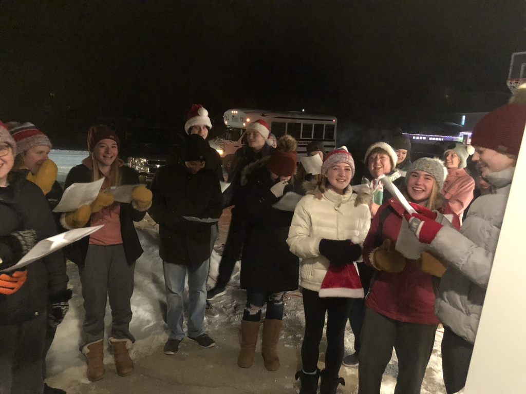 FCCLA Carolers! ⭐️⭐️ Thanks for the song!!