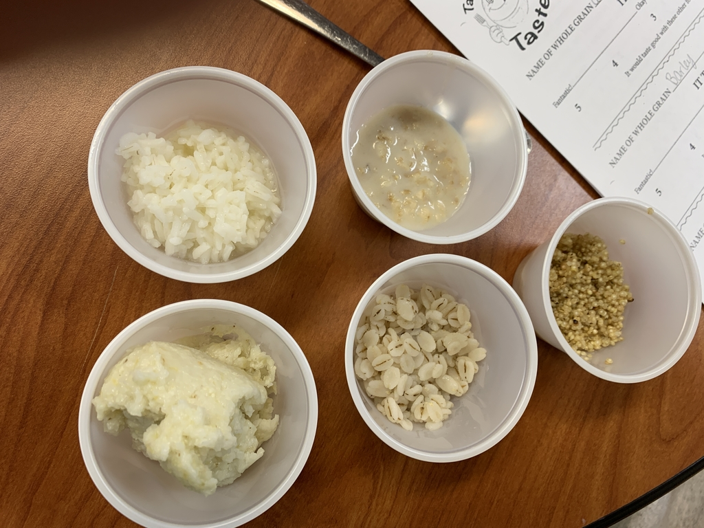 Can you identify the five major cereal grains?  FACS I can!