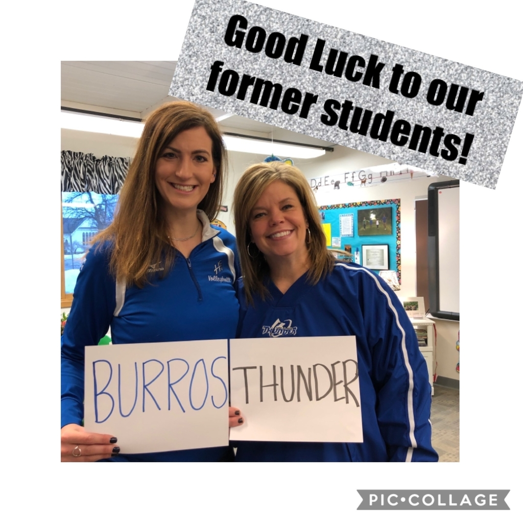 Good luck Burros and Thunder!